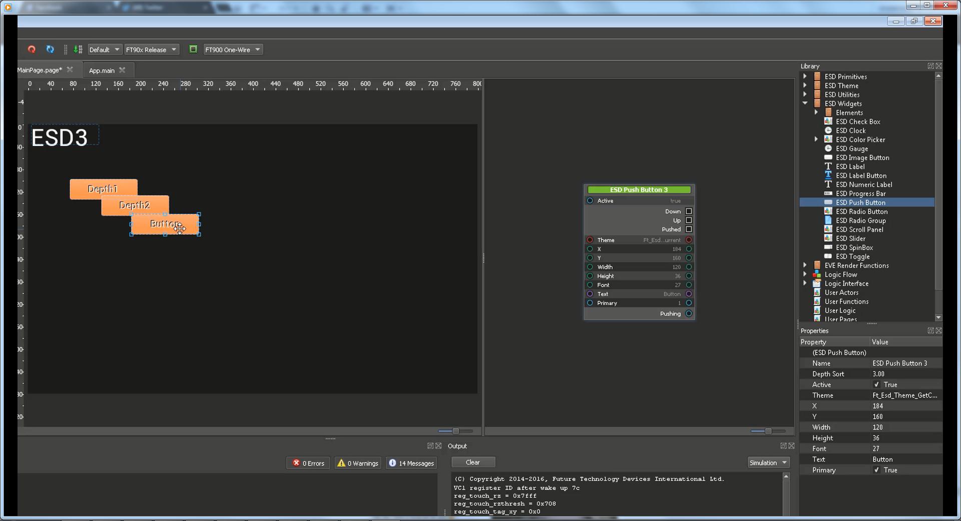EVE Screen Designer 3 x Video Tutorials