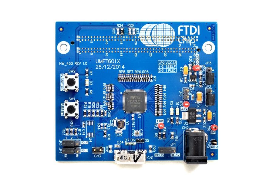 FTDI FT600 USB 3.0 Bridge Device Update